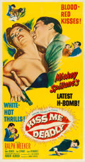 "Movie Posters:Film Noir, Kiss Me Deadly (United Artists, 1955). Three Sheet (41"" X 79"")....."