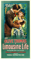 """Movie Posters:Comedy, Limousine Life (Triangle, 1918). Three Sheet (42"""" X 80.5"""").. ..."""