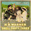 "Movie Posters:Drama, Shell Forty-Three (Triangle, 1916). Six Sheet (79"" X 81"").. ..."