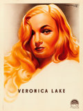 "Movie Posters:Miscellaneous, Veronica Lake & Others (Paramount, 1944). Personality Posters(5) (23"" X 31.25"") Roger Soubie Artwork.. ... (Total: 5 Items)"