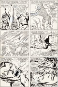 Original Comic Art:Panel Pages, John Buscema and Frank Giacoia Sub-Mariner #1 Story Page 19Fantastic Four Original Art (Marvel, 1968)....