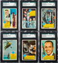 "Non-Sport Cards:Sets, 1963 Topps ""Astronauts"" Complete Set (55). ..."