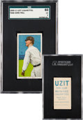 Baseball Cards:Singles (Pre-1930), 1909-11 T206 Uzit John Frill SGC 60 EX 5 - The Only SGC & PSAExample! ...