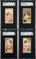 "Non-Sport Cards:Sets, 1889 N188 Kimball ""Goddesses of Greeks & Romans"" Partial Set(21/50). ..."