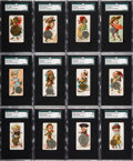 """Non-Sport Cards:Sets, 1889 N72 Duke """"Coins of All Nations"""" Near Set (40/50). ..."""