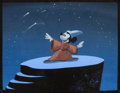 "Animation Art:Production Drawing, Fantasia ""Sorcerer's Apprentice"" Mickey Mouse StoryboardPainting (Walt Disney, 1940)...."