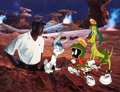 "Animation Art:Limited Edition Cel, ""Aerospace Jordan"" Bugs Bunny and Marvin the Martian LimitedEdition Cel #209/500 (Warner Brothers, 1993)...."
