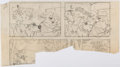 Original Comic Art:Miscellaneous, Harvey Eisenberg Hey There, It's Yogi Bear Comic BookPartial Preliminary Page (Gold Key, 1964). ...