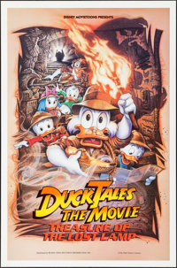 "Duck Tales: The Movie - Treasure of the Lost Lamp (Buena Vista, 1990). One Sheet (27"" X 41""). Animation"