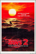 """Movie Posters:Horror, Jaws 2 (Universal, 1978). One Sheet (27"""" X 41"""") Teaser. Horror.. ..."""