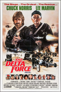 """The Delta Force & Others Lot (Cannon, 1986). One Sheets (3) (27"""" X 41""""). Action. ... (Total: 3 Items)"""