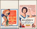 "Movie Posters:Drama, Love is a Many-Splendored Thing & Other Lot (20th Century Fox,1955). Window Cards (2) (14"" X 22""). Drama.. ... (Total: 2 Items)"