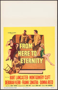 "Movie Posters:Academy Award Winners, From Here to Eternity (Columbia, 1953). Window Card (14"" X 22"").Academy Award Winners.. ..."