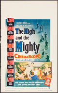 "Movie Posters:Adventure, The High and the Mighty (Warner Brothers, 1954). Trimmed WindowCard (13.5"" X 22""). Adventure.. ..."