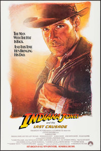"""Indiana Jones and the Last Crusade (Paramount, 1989). One Sheet (27"""" X 40.5"""") Advance SS. Action"""