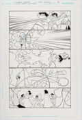 Original Comic Art:Panel Pages, Carlo Barberi and Lary Strucker Justice League Unlimited #17 Page 12 Original Art (DC, 2006)....