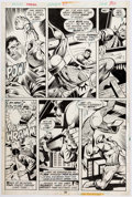 Original Comic Art:Panel Pages, George Tuska and Vince Colletta Power Man #29 Story Page 17Original Art (Marvel, 1975)....