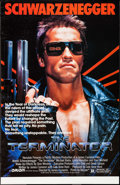 "Movie Posters:Science Fiction, The Terminator (Orion, 1984). Trimmed Half Subway (29.5"" X 45.5"").Science Fiction.. ..."