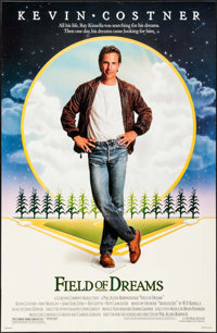 "Field of Dreams & Other Lot (Universal, 1989). One Sheets (2) (27"" X 40"") SS. Fantasy. ... (Total: 2 I..."