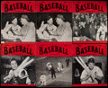 Baseball Collectibles:Publications, Baseball Magazine and Sports Illustrated Collection (12)....