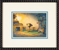 Animation Art:Painted cel background, The New Adventures of Winnie the Pooh Painted Background(Walt Disney, 1988)....