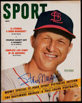 "Autographs:Others, Stan Musial Signed ""Sport"" Magazine - July 1954. ..."