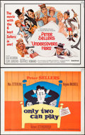 """Movie Posters:Comedy, Only Two Can Play & Others Lot (Kingsley International, 1962). Half Sheets (3) (22"""" X 28""""). Comedy.. ... (Total: 3 Items)"""