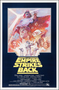 "Movie Posters:Science Fiction, The Empire Strikes Back (20th Century Fox, R-1981). One Sheet (27""X 41"") Tom Jung Artwork. Science Fiction.. ..."