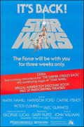 """Movie Posters:Science Fiction, Star Wars (20th Century Fox, R-1979). One Sheet (27"""" X 41"""").Science Fiction.. ..."""