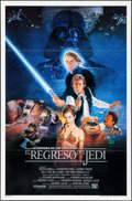 "Movie Posters:Science Fiction, Return of the Jedi (20th Century Fox, 1983). Spanish Language OneSheet (27"" X 41"") Style B. Science Fiction.. ..."