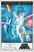 "Movie Posters:Science Fiction, Star Wars (20th Century Fox, 1977). Australian One Sheet (26.5"" X 40.25""). Science Fiction.. ..."