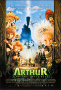 "Movie Posters:Animation, Arthur and the Invisibles & Others Lot (MGM, 2006). Autographed One Sheet (27"" X 40"") DS & One Sheets (2) (27"" X 40"") SS. An... (Total: 3 Items)"