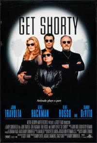 """Get Shorty & Other Lot (MGM, 1995). One Sheets (6) Identical (27"""" X 40"""") SS. Comedy. ... (Total: 6 Ite..."""