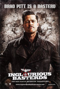 "Movie Posters:War, Inglourious Basterds (Universal, 2009). One Sheets (4) (27"" X 40"")SS 4 Styles. War.. ... (Total: 4 Items)"