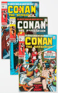 Bronze Age (1970-1979):Adventure, Conan the Barbarian Group of 8 (Marvel, 1970-75) Condition: Average FN/VF.... (Total: 8 Comic Books)