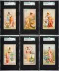 """Non-Sport Cards:Sets, 1889 N117 Duke """"Industries of the States"""" Complete Set (25). ..."""