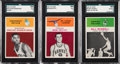 Basketball Cards:Lots, 1961-62 Fleer Basketball Collection (38) With Near-Mint RobertsonRookie. ...