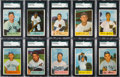 Baseball Cards:Sets, 1954 Bowman Baseball Complete Set (224). ...