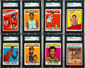 Basketball Cards:Sets, 1971 and 1972 Topps Basketball Complete Set Pair (2). ...