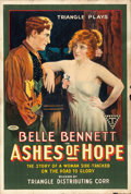 "Movie Posters:Western, Ashes of Hope (Triangle, 1917). One Sheet (27.75"" X 41"") Style A....."
