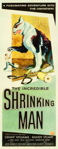 "Movie Posters:Science Fiction, The Incredible Shrinking Man (Universal International, 1957).Insert (14"" X 36""). Reynold Brown Artwork.. ..."