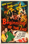 "Movie Posters:Science Fiction, Beginning of the End (Republic, 1957). One Sheet (27"" X 4.75"")....."
