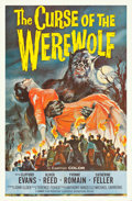 "Movie Posters:Horror, The Curse of the Werewolf (Universal International, 1961). One Sheet (27"" X 41"").. ..."