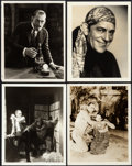 "Movie Posters:Horror, Lon Chaney Lot (MGM, 1922-1930). Photos (4) (8"" X 10"").. ...(Total: 4 Items)"