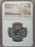 Ancients:Greek, Ancients: SELEUCID KINGDOM. Alexander I Balas (152-145 BC). ARtetradrachm. NGC Choice VF....