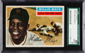 Baseball Cards:Singles (1950-1959), 1956 Topps Willie Mays (Gray Back) #130 SGC 88 NM/MT 8....