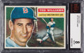 Baseball Cards:Singles (1950-1959), 1956 Topps Ted Williams #5 BVG NM-MT 8. ...
