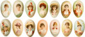 "Non-Sport Cards:Sets, 1890s N228-6 Kinney ""Novelties"" Complete Set (14). ..."