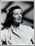 "Movie Posters:Miscellaneous, Katharine Hepburn Lot (MGM, 1942/1948). Photos (3) (10"" X 13"")..... (Total: 3 Items)"