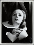 "Movie Posters:Drama, Greta Garbo in Queen Christina by Clarence Sinclair Bull (MGM,1933). Portrait Photo (10"" X 13"").. ..."
